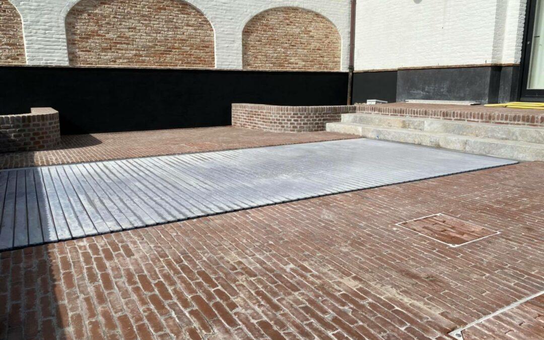 Belevingstuin te Knokke (O.l.v Louis Dupon tuinarchitectuur en -aannemingen).